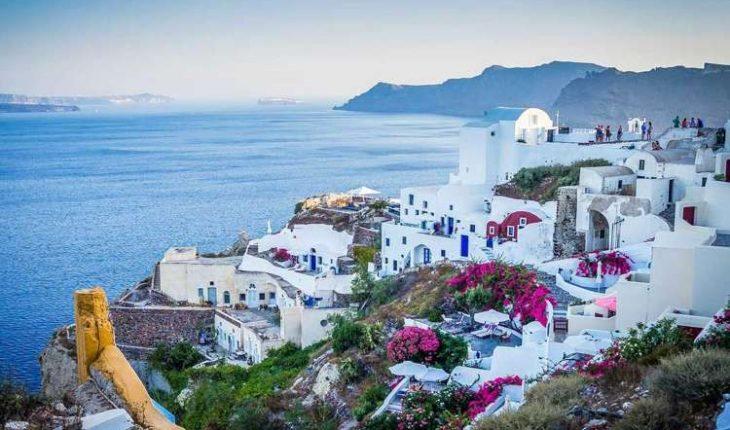 raggiungere le isole greche
